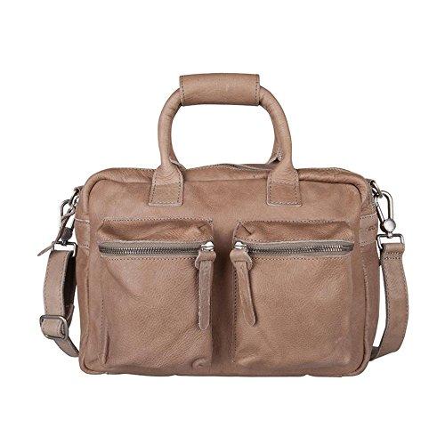 Cowboysbag The Little Bag 1346 Unisex-Erwachsene Henkeltaschen 32x20x14 cm (B x H x T) Elephant Grey (Braun)