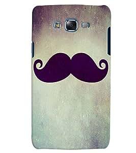 Citydreamz Moustache/Man Hard Polycarbonate Designer Back Case Cover For Samsung Galaxy Grand Prime G530H/G531H