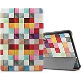 Artizlee 10 Zoll Tablet PC ATL-21 Hülle Case- Infiland Ultra Dünn Tri-Fold Muschel PU Leder Ultra Schlank Superleicht Ständer Shell Cover Schutzhülle Etui Tasche für 10.1