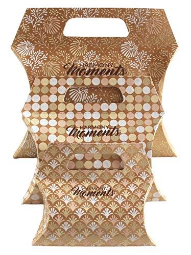 Geschenkverpackung, Geschenktaschen, Geschenkbeutel, Geschenkbox, Edle Verpackung, Exklusive Verpackung, Geschenktüten, Taschen von HARMONYMOMENTS (Gold)