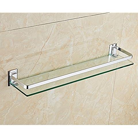 Bagno WC a parete rack/comodit¨¤ spazio alluminio bagno accessori vetro
