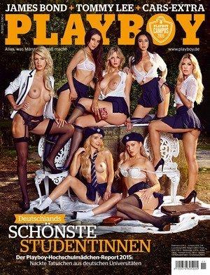 PLAYBOY November 11/2015 Playboy Campus - Deutschlands heißeste Hochschülerinnen