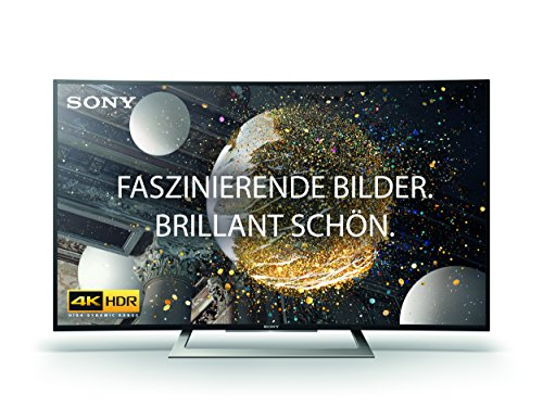 Sony KD-50SD8005 126 cm (50 Zoll) Curved Fernseher (4K HDR, Ultra HD, Smart TV)