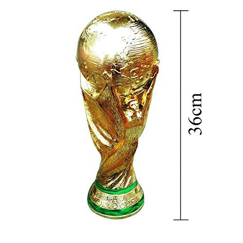 LOERO 2018 Trofeo Russo FIFA World Cup Replica 36Cm 2/5Kg Titan Cup Gold Look Heavy Fai Rifornimento E Congratulazioni Alla Tua Squadra,2KG