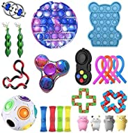 LIMOS Pack Sensory Toys Set, Relieves Stress and Anxiety Fidget Toy for Children Adults, Special Toys Assortme