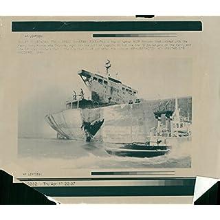 Vintage photo of Shipwrecks - Tanker AGIP Abruzzo