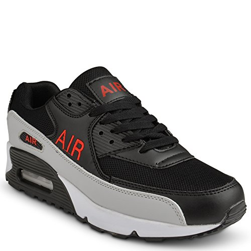 Shoes Click - Zapatillas de Material Sintético para hombre negro negro 41 EU , color negro, talla 41.5