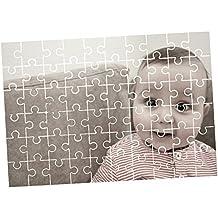 """Fotografía Personalizada Juego De Puzzle Piezas / Personalizado Rectangular Puzles Imagen Pegatina / Juego Familiar, Regalo, Único Regalo Foto + Gratis Calcamonía Regalo - 7.5"""" x 11"""" (70 puzzles)"""