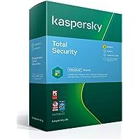 Kaspersky Total Security 2021 Standard | 3 Geräte | 1 Jahr | Windows/Mac/Android | Aktivierungscode in…