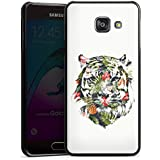 Samsung Galaxy A3 (2016) Housse Étui Protection Coque Tigre Tropical Jungle