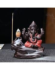 WebelKart JaipurCrafts Ceramic Backflow Incense Bu