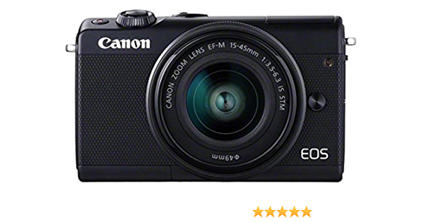 Canon Eos M100 With Ef M 15 45mm And Ef M 22mm Lens Kamera