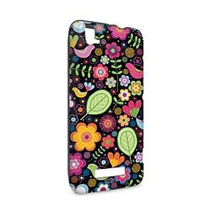 Tasche für ZTE Grand S Flex mit YOUNiiK Styling Skin–Floral mit Auswahl von Naturaufnahmen