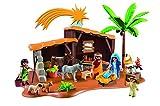 Outletdelocio. Nuevo Belen Playmobil con Luz y Establo. 60 piezas.