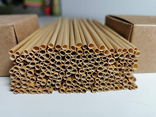 aktiongruen Weizenhalme für Insektenhotels, zum Bauen und Basteln, 13 cm