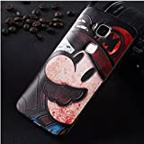 Prevoa ® 丨Huawei G8 Funda - Colorful Silicona Funda Cover Case para Huawei G8 Android Smartphone - 4
