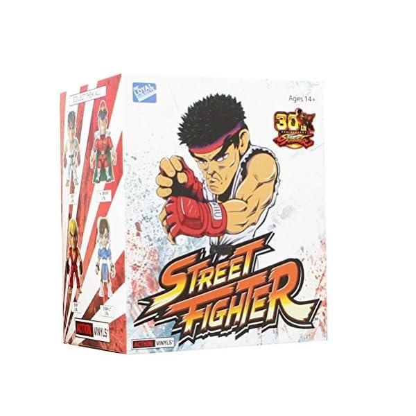 "Street Fighter Blind Box 3"" Action Vinyls Series 1, Sealed Case of 12 1"