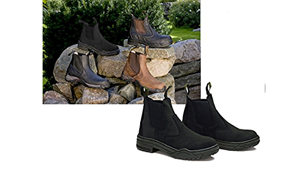 Safety Boots with Steel Toe Cap
