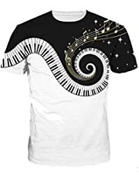 1451822327f35 OYABEAUTYE Unisex 3D Digital Impreso Personalizado Manga Corta Camisetas  Tees Tops