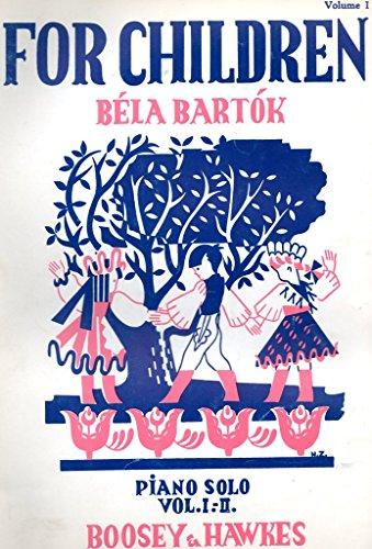 Bartok. For Children. Piano Solo. Volume 1