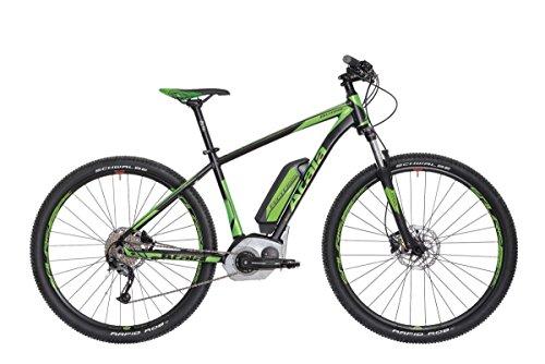 "'Atala bicicleta eléctrica b-cross CX 27,5""9V Talla 51Performance CX negro verde (MTB eléctrica)"