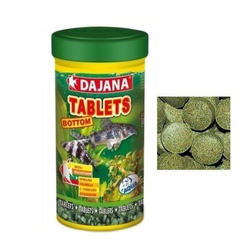 Dajana Tablets Bottom Mangime speciale in compresse per pesci di fondo (100 ml)