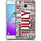 Head Case Designs Juillet Personnalités Du Mois De Naissance Étui Coque en Gel molle pour Samsung Galaxy A5 (2016)