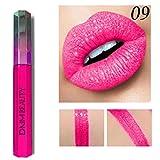 Rouge à Lèvres Sonnena 2018 Lip Liner Stick Crystal Briller Nude Metallic Matte Velours Brillant à Lèvres Crème Gloss 12 Teintes Rouge/Rose (Rouge, I)