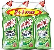 سائل تنظيف المرحاض اكتيف فريش من هاربيك بالصنوبر، 750 مل 2+1 مجاني