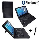 Bluetooth Tastatur Tablet Tasche - TREKSTOR SurfTab duo W1