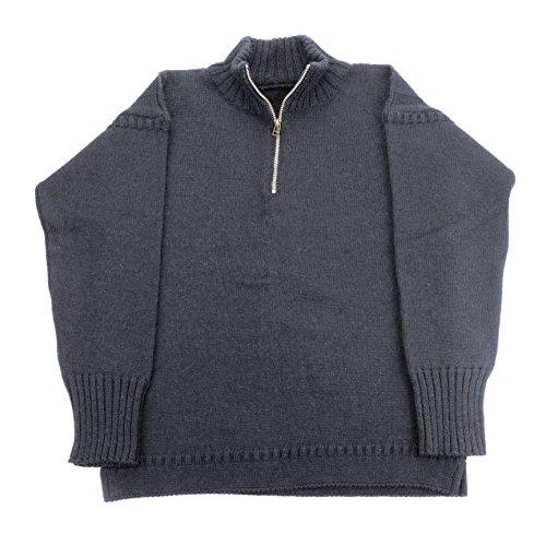 channel-jumper-genuine-1-4-zip-guernsey-jumper-loden-green-size-46
