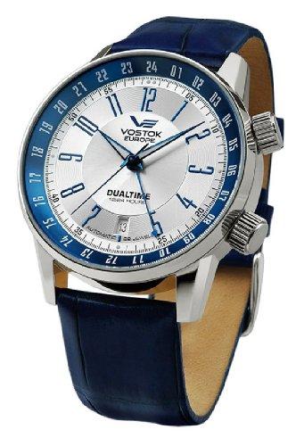 Vostok Europe 2426/5601057 - Reloj para Hombres Color Azul