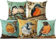 AEROHAVEN™ Set of 5 Decorative Hand Made Velvet Throw/Pillow Cushion Covers - CC-38 (Multicolor, 16 inch x 16