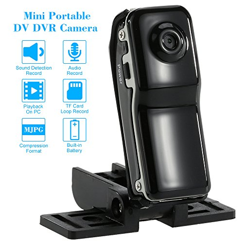KKmoon Mini Portatile Cam DV DVR CCTV Telecamera di Sorveglianza