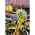 Iron Maiden - Killers - Posterflagge 100% Polyester -…