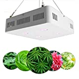 MISJIA Indoor-Plant Growing COB Reflector-Serie Grow Lampe 400W Plant Lights Full Spectrum für Hydronik-Gemüse und Blume in Grow Box und Grow Zelt-Luminous Flux: 7500 (Lm)