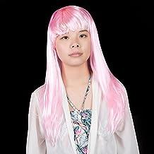 Peluca divertida Halloween maquillaje bola cosplay show apoyos cabeza conjunto partido peluca ( Color : Pink )