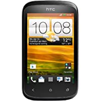 HTC Desire C Smartphone (8,9 cm (3,5 Zoll) HVGA-Touchscreen, 5  Megapixel Kamera, 600MHz, 512MB RAM, 4GB Speicher, Android 4.0 OS) Stealth Black
