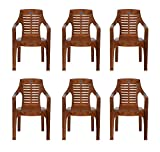#3: Nilkamal Set of 6 Chairs (Pear Wood)