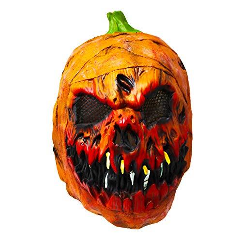 Maschera in lattice a forma di zucca. perfetta per le feste di halloween, carnevale e travestimenti vari