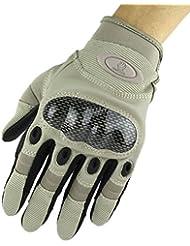 Smile YKK Invierno Hombres Outdoor Sport de pantalla táctil guantes de dedo completo Ciclismo Guantes