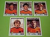 Panini WM 1978 - 5 Update Sticker Team Niederlande