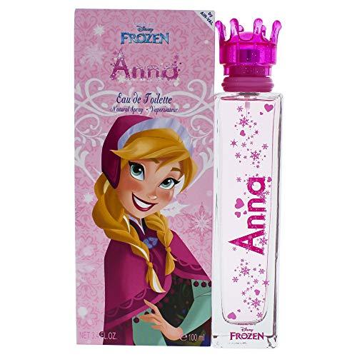 Air Val Disney Frozen Die Eiskönigin Kinder-Parfüm im Glas-Flakon mit Krönchen-Verschluss, 1er Pack (1 x 100 (Die Frozen Disney)