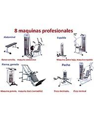 Grupo Contact Gimnasio completo (8 maquinas musculacion profesional)
