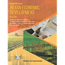 Indian Economic Development for Class 12 (Examination 2020-2021)