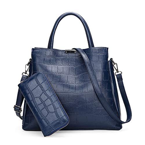 a124e633b9368 DEERWORD Damen Henkeltaschen Damenhandtaschen Handtaschen Schultertaschen  Shopper PU-Leder.