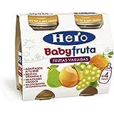 Hero Baby Bebida de Frutas para Bebés - Paquete de 2 x 130 gr - Total: 260 gr