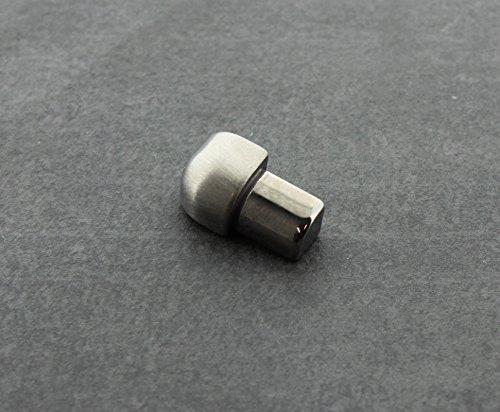 12,5 mm H/öhe Edelstahl gl/änzend Fliesenprofil V2A Innen /& Au/ßenecke f/ür Fliesenschiene Quadratprofil