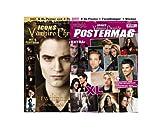 Icons Vampire Chronicle, limitiertes Bundle (2 Ausgaben): Postermag 2 + Twilight: New Moon inkl. 15 XL-Poster von Twilight, Robert Pattinson u.v.m. + 15 XL-Poster, Sticker, Türanhänger