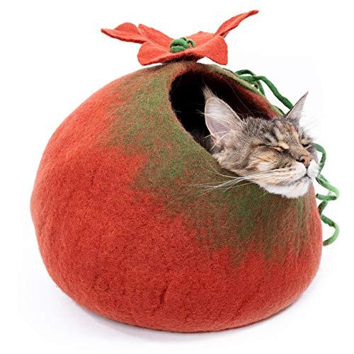Mimis Daughters Cat Cave - Cama Gatos Gatitos Fieltro